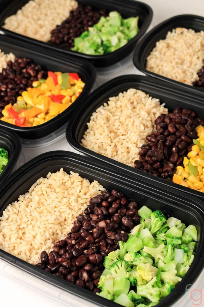Healthy Easy Vegan Recipes  Easy Ve arian Meal Prep 30 Minute Vegan Meal Prep