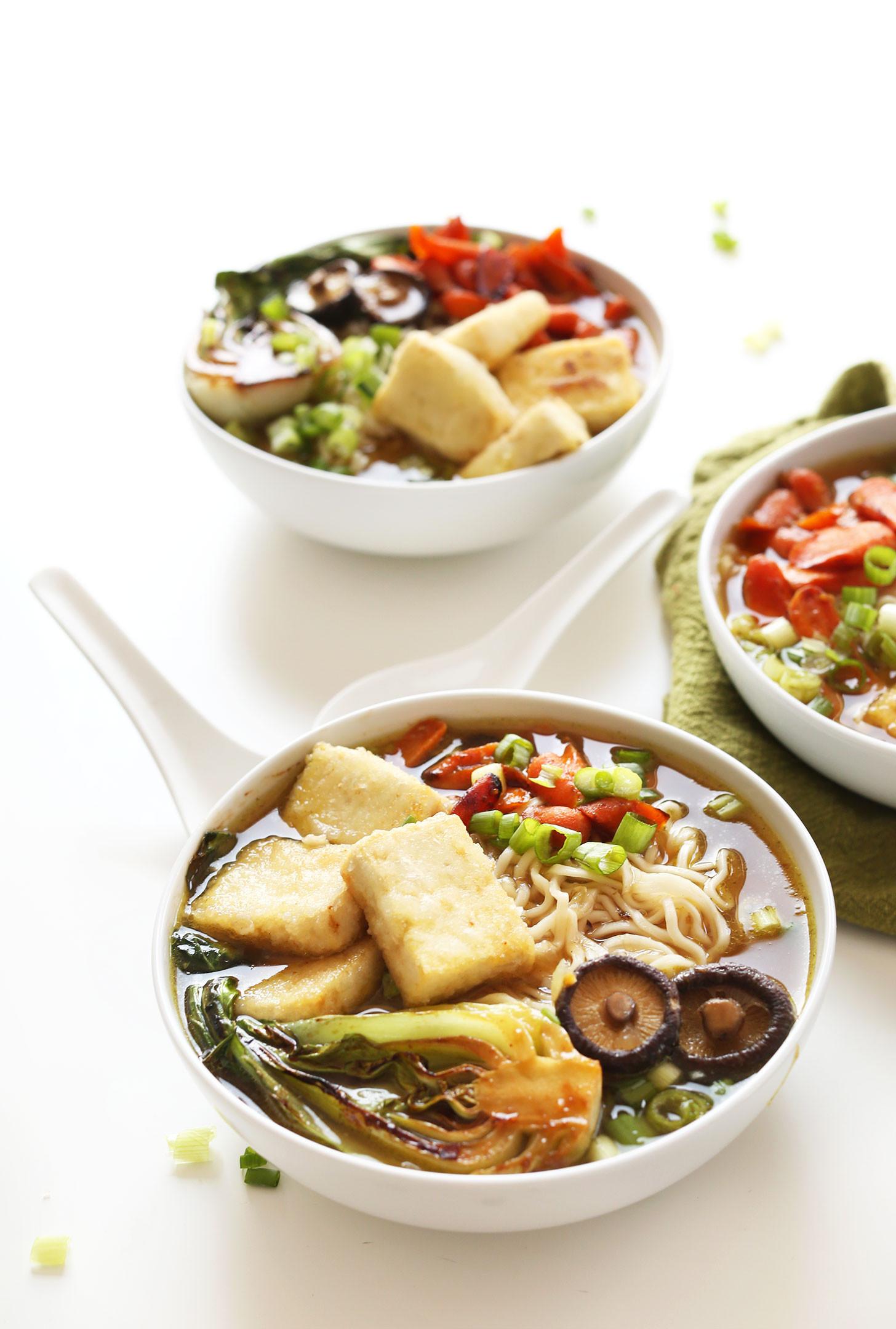 Healthy Easy Vegan Recipes  Easy Vegan Ramen