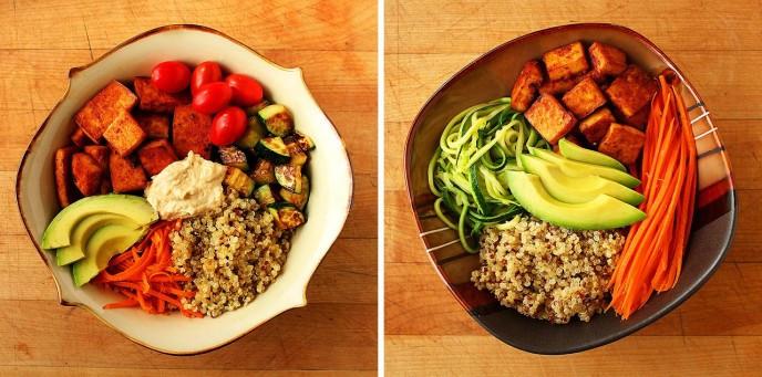 Healthy Easy Vegetarian Recipes  Baked Sriracha & Soy Sauce Tofu 2 Quick & Easy Recipes