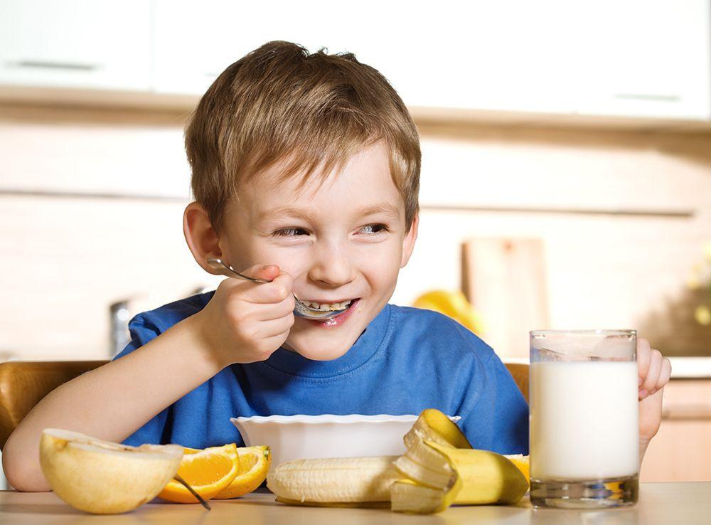Healthy Eating Breakfast  When Kids Eat a Healthy Breakfast They Do Better in School