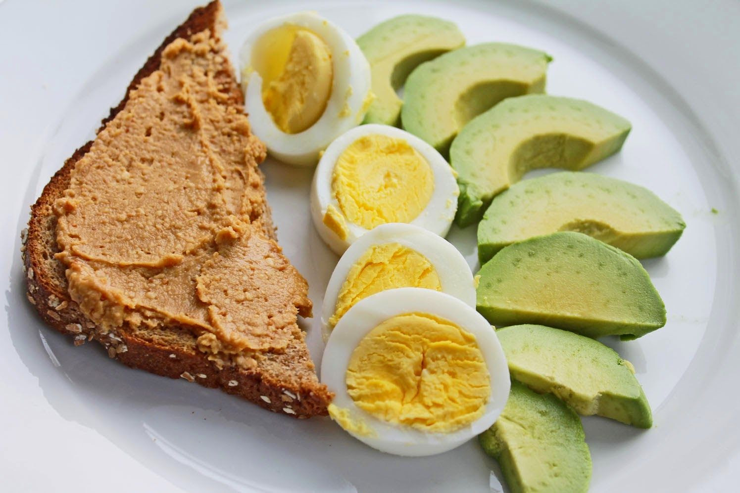 Healthy Egg Breakfast Weight Loss  Healthy breakfast idea Whole Wheat Toast with All Natural