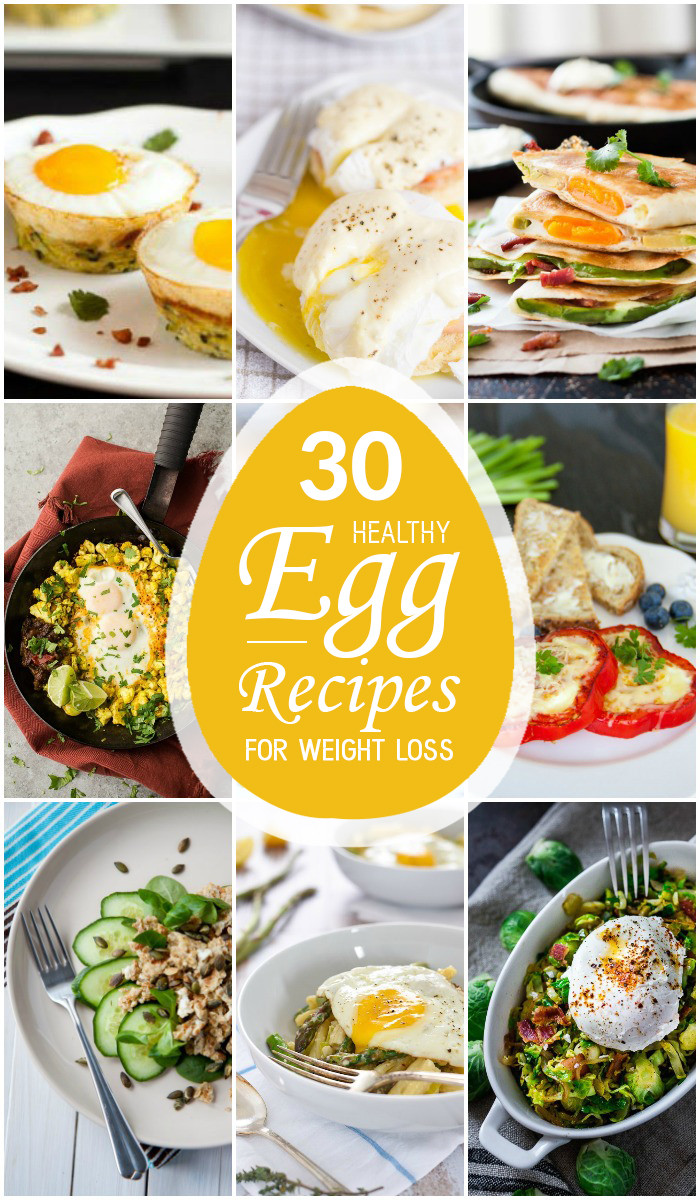 Healthy Egg Breakfast Weight Loss  30 Healthy Egg Recipes for Weight Loss