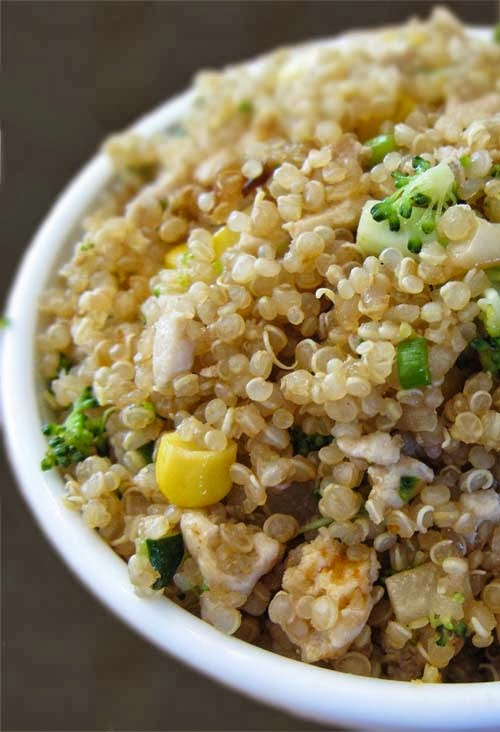 Healthy Egg Fried Rice  Quinoa as Rice Substitute and Some Recipes to Consider