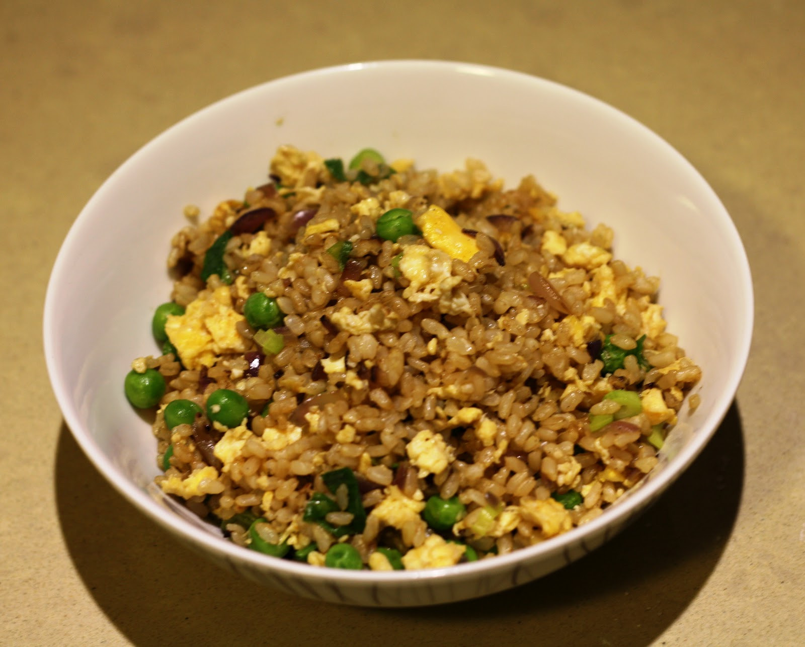 Healthy Egg Fried Rice  Healthy Egg & Ginger Fried Rice Recipe Mademoiselle