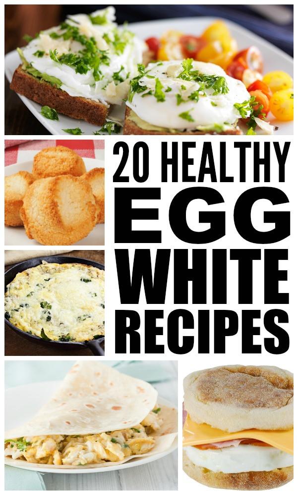 Healthy Egg White Breakfast  20 healthy egg white recipes