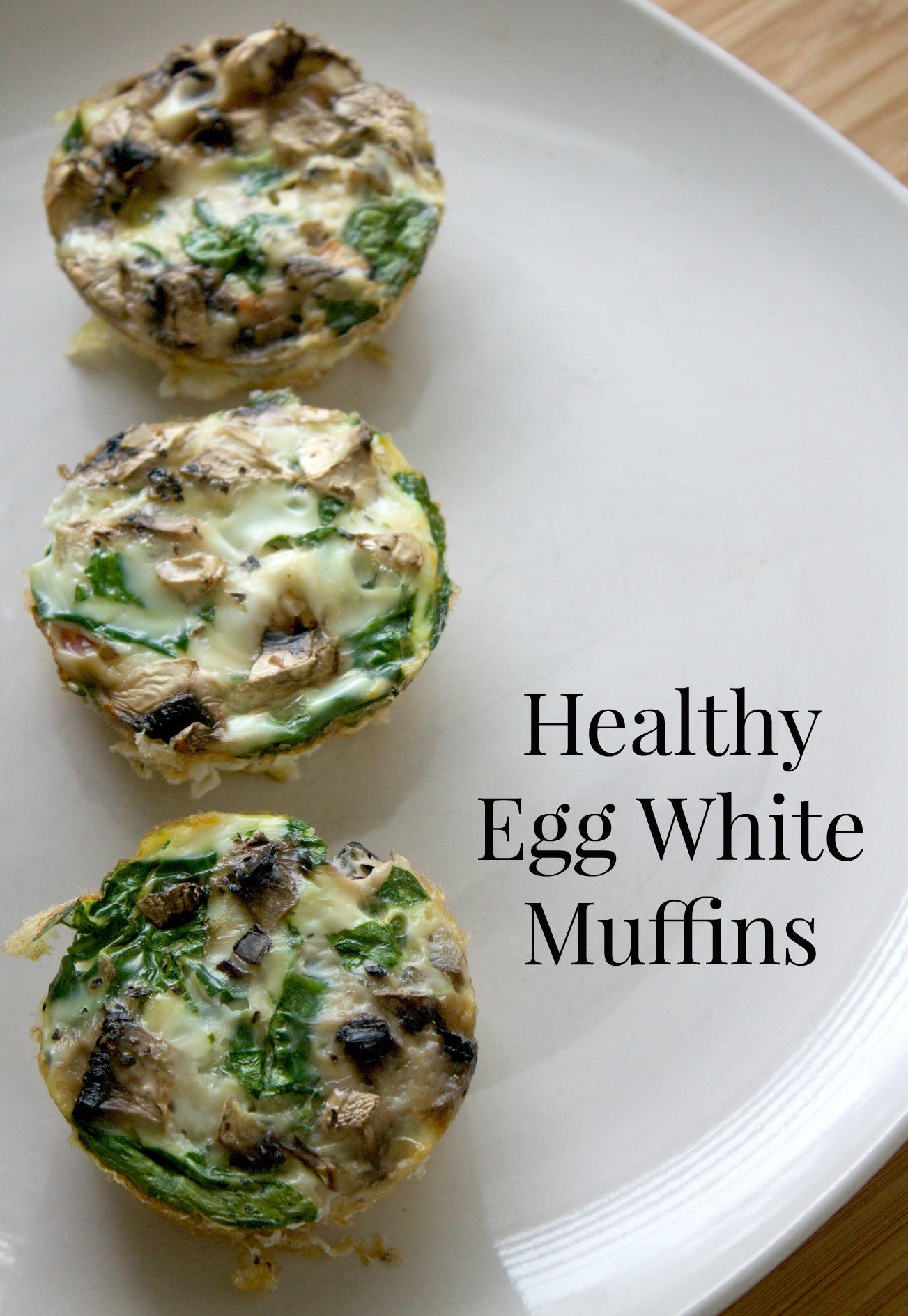 Healthy Egg White Breakfast  Healthy Egg White Muffins Recipe Mom Luck
