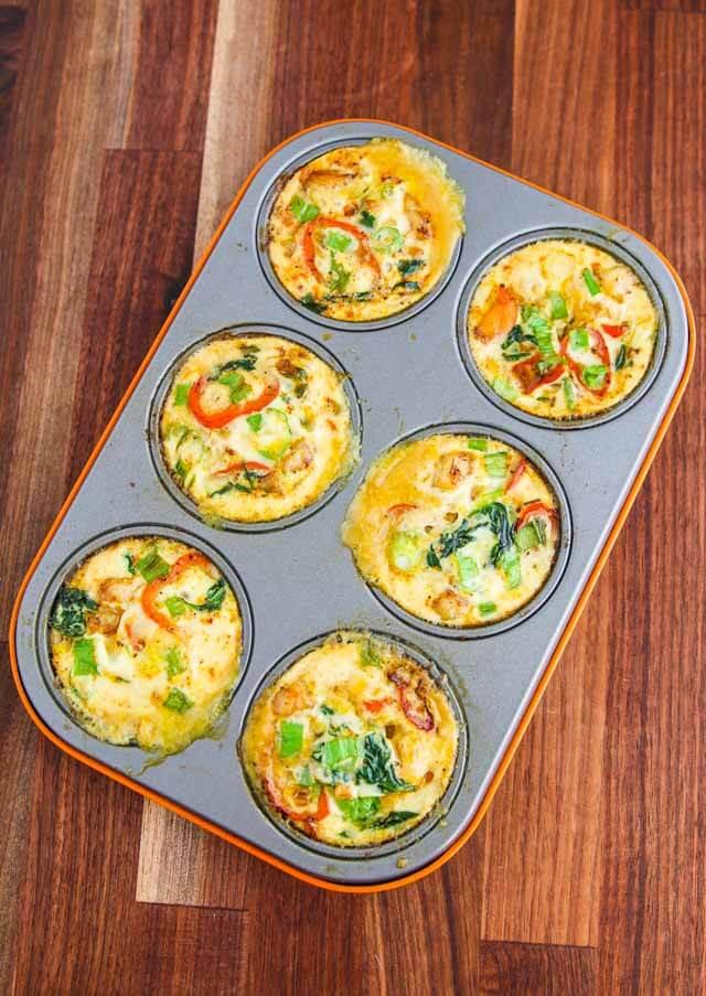 Healthy Egg White Breakfast  Breakfast Shrimp Egg White Muffin Cups Recipe Jeanette s