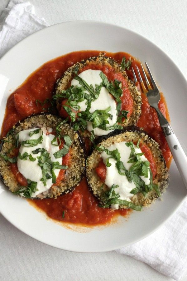Healthy Eggplant Parmesan  171 best images about Healthy Recipes on Pinterest