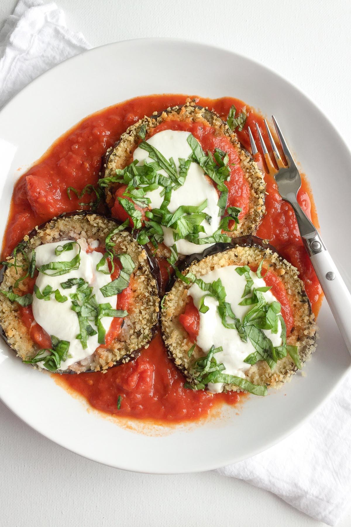 Healthy Eggplant Parmesan Recipe  Healthy Baked Eggplant Parmesan Recipe