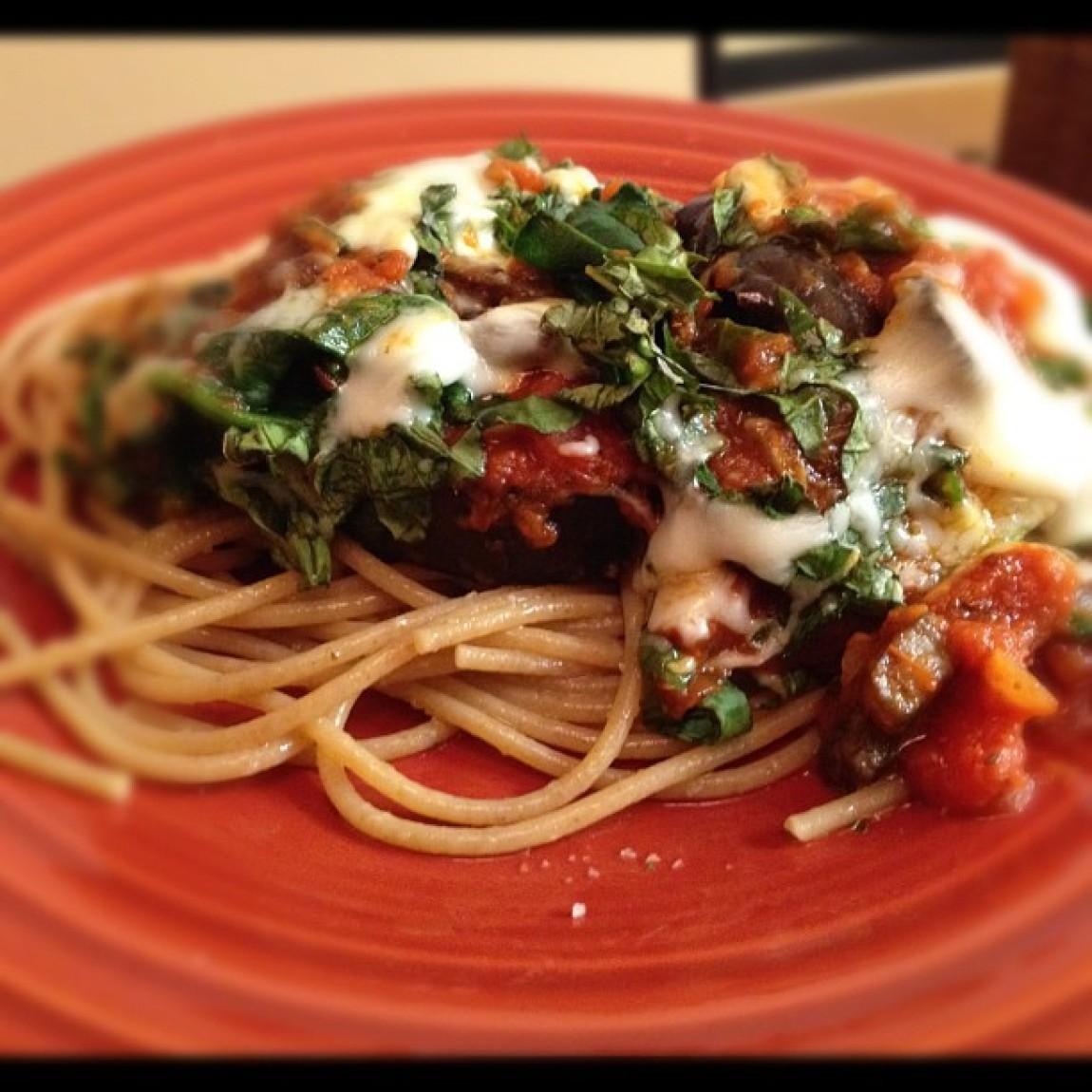 Healthy Eggplant Recipes  Healthy Eggplant Parmesan Recipe
