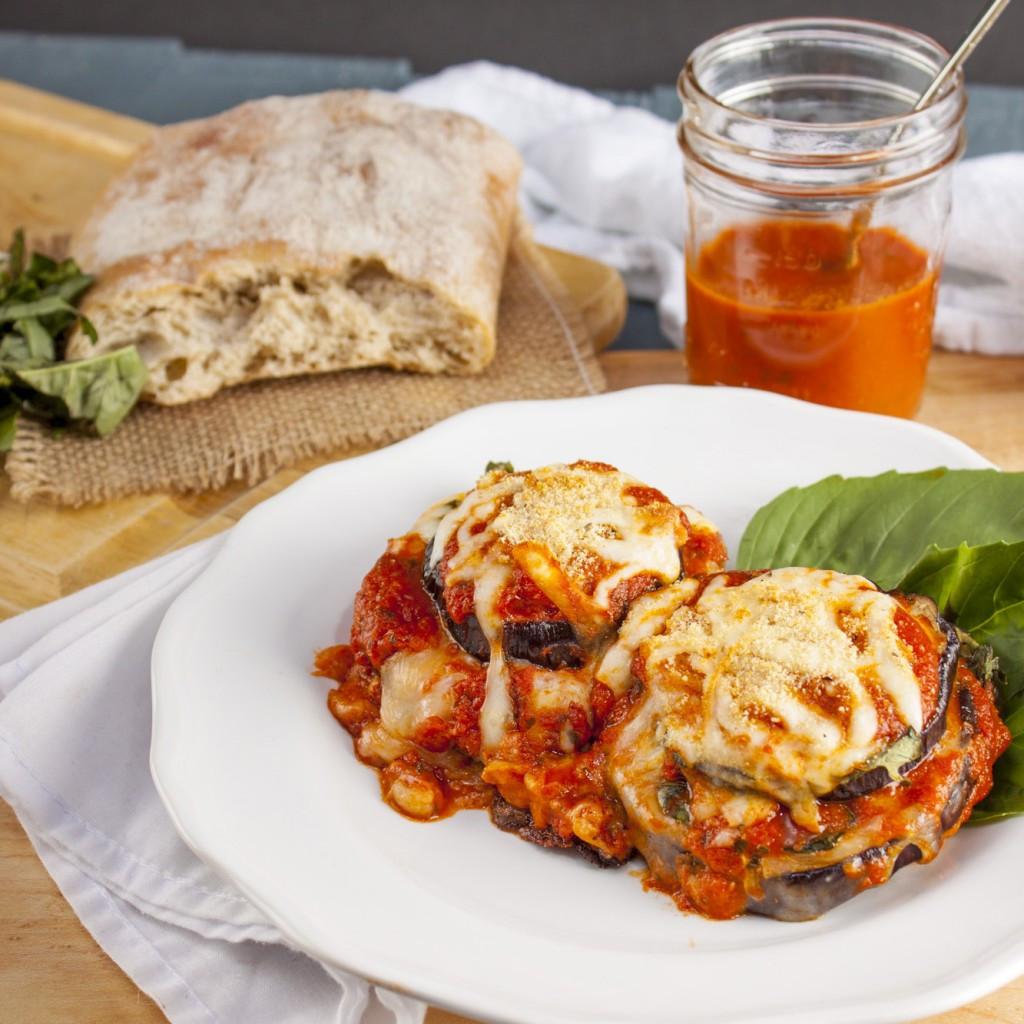 Healthy Eggplant Recipes  healthy eggplant parmesan recipe baked