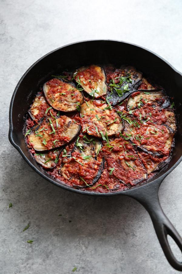 Healthy Eggplant Recipes  Imam Bayildi Healthy Turkish Eggplant Casserole Recipe