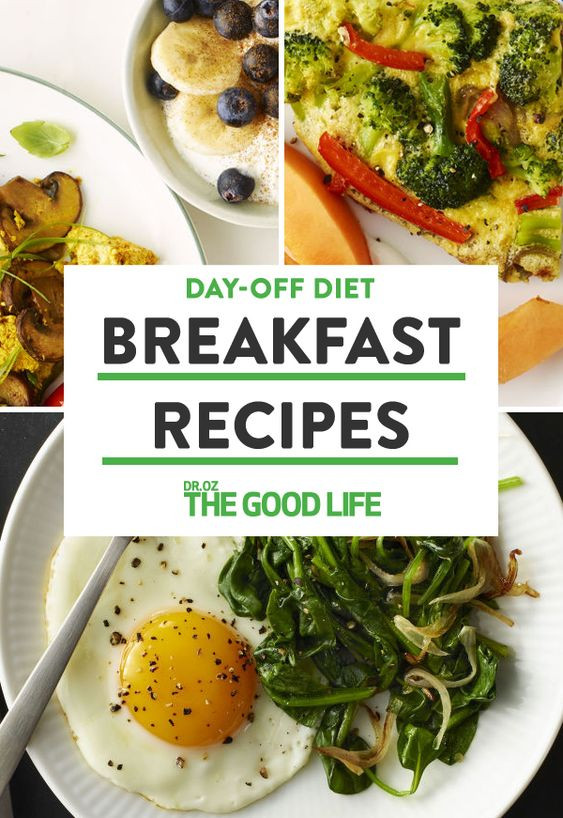 Healthy Energizing Breakfast  3 Energizing Breakfast Recipes From Dr Oz s Day f Diet