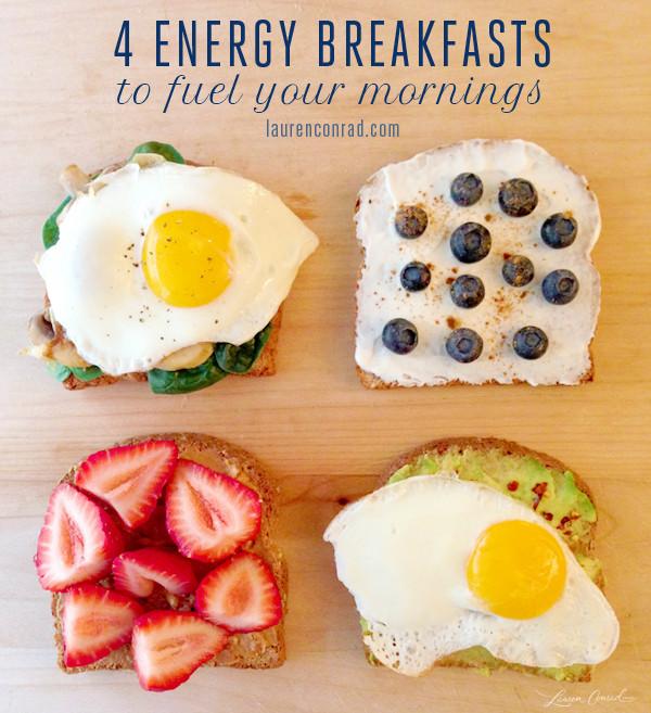 Healthy Energizing Breakfast  Good Eats Energy Breakfasts Lauren Conrad