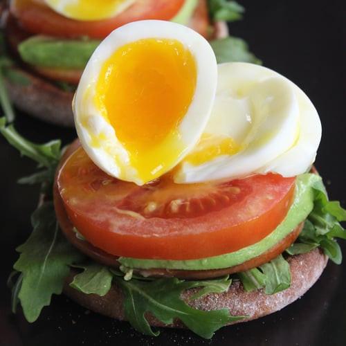 Healthy English Muffin Breakfast Sandwich  Healthy Breakfast Sandwich