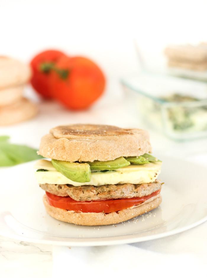 Healthy English Muffin Breakfast Sandwich  Healthy Meal Prep Breakfast Sandwiches Lively Table