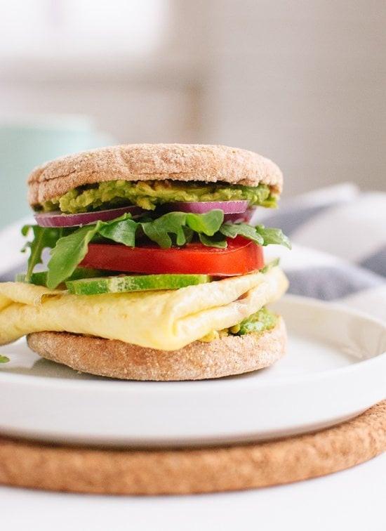 Healthy English Muffin Breakfast Sandwich  Healthy Breakfast Sandwich Recipes
