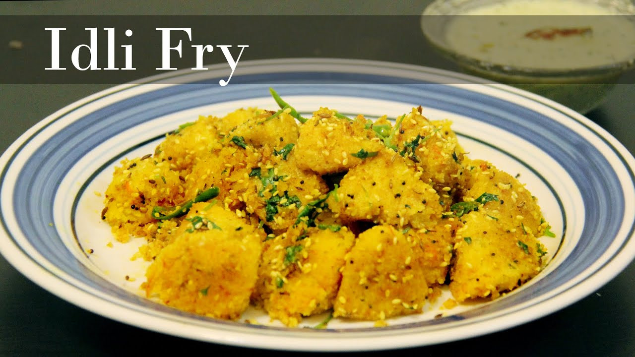 Healthy Evening Snacks Indian  Masala idli Recipe Fried Masala Idli Easy healthy