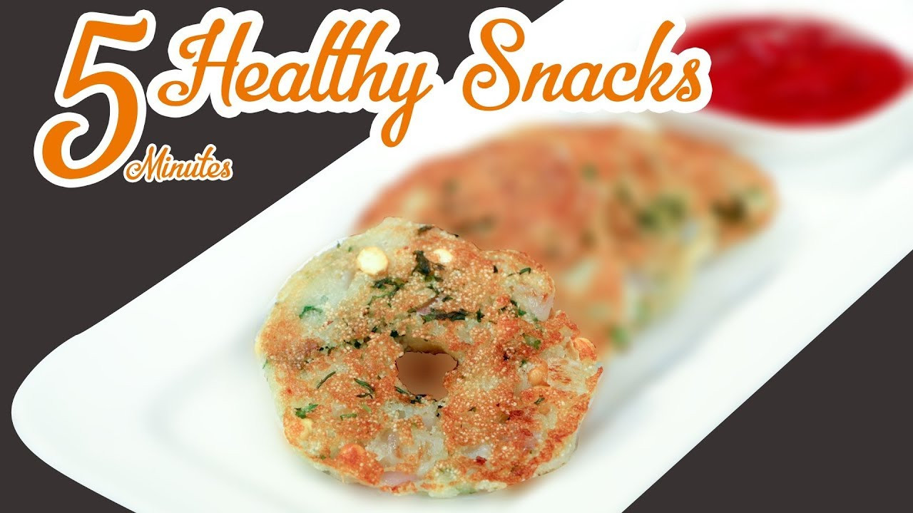 Healthy Evening Snacks Indian  5 Min Healthy Breakfast Evening Snacks Idea Quick & Easy