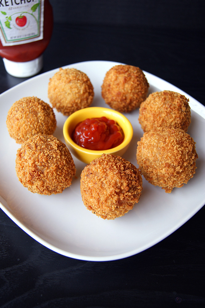 Healthy Evening Snacks Indian  Poha Croquettes Easy Indian Appetizer Recipe