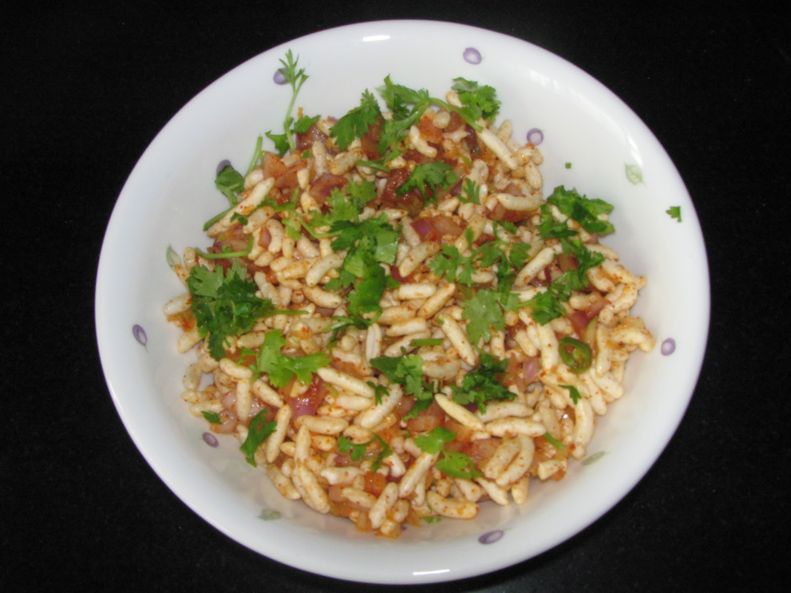 Healthy Evening Snacks  Cook Book Charmuri Upkari A Healthy Evening Snack made