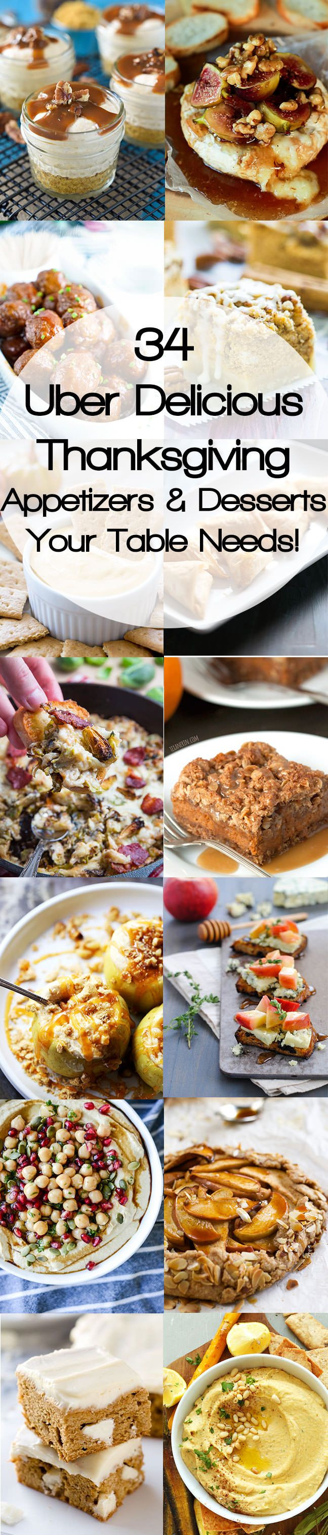 Healthy Fall Appetizers  Healthy Thanksgiving Appetizers & Desserts