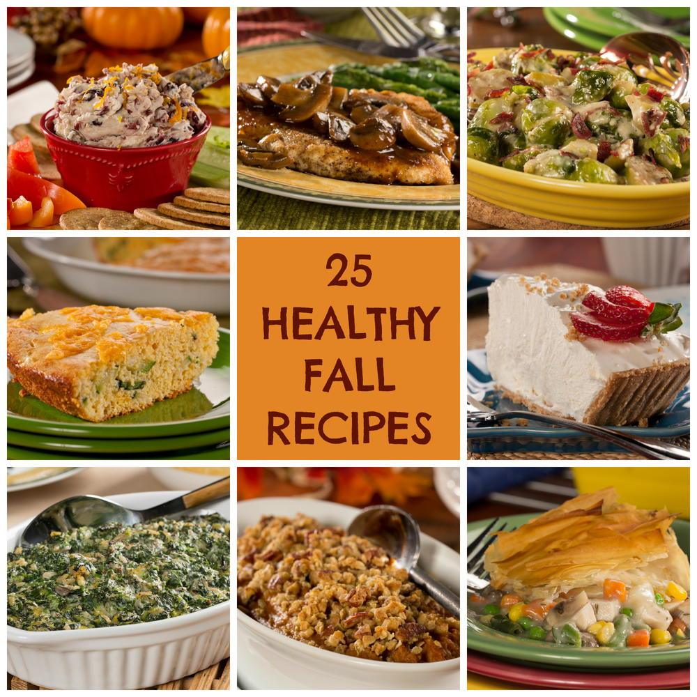 Healthy Fall Appetizers  25 Healthy Fall Recipes