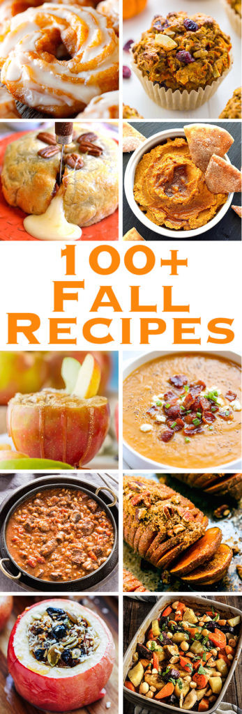 Healthy Fall Appetizers  100 Fall Recipes You Definitely Need In Your Life Fall