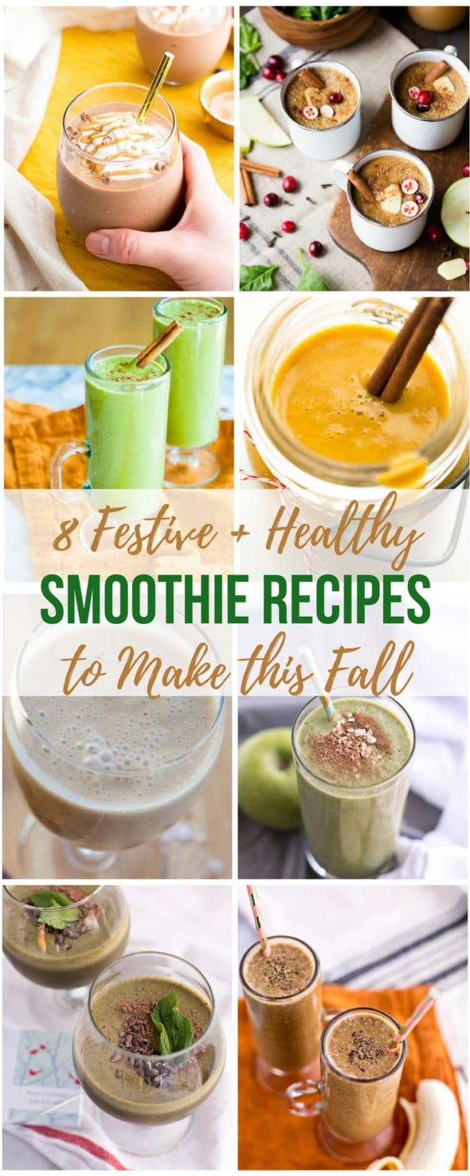 Healthy Fall Breakfast Recipes  8 Festive Healthy Breakfast Smoothie Recipes to Make
