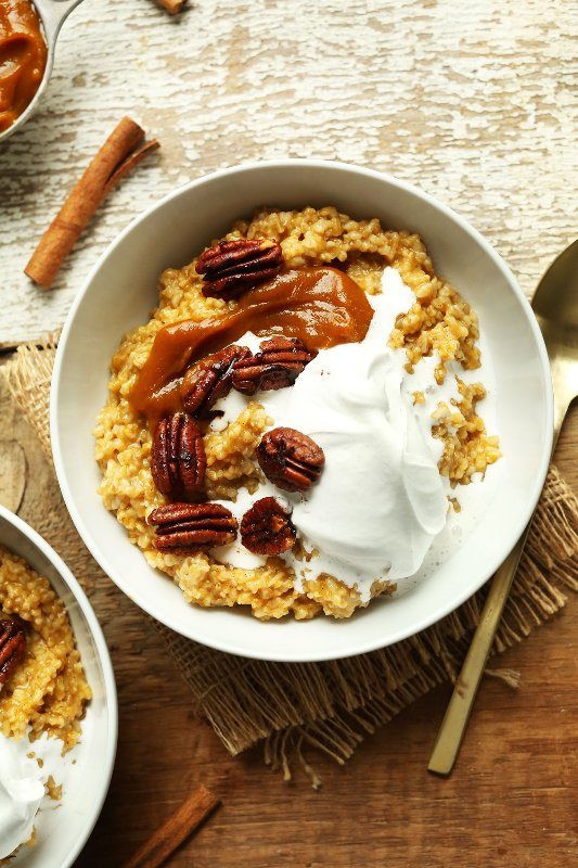 Healthy Fall Breakfast Recipes  41 Paleo and Vegan Pumpkin Recipes To Die For Eluxe Magazine