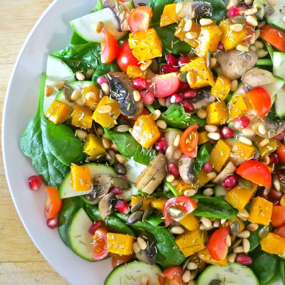 Healthy Fall Salads  Colorful And Healthy Winter Salads Barnorama