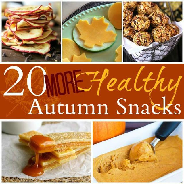Healthy Fall Snacks  20 More Healthy Fall Snacks