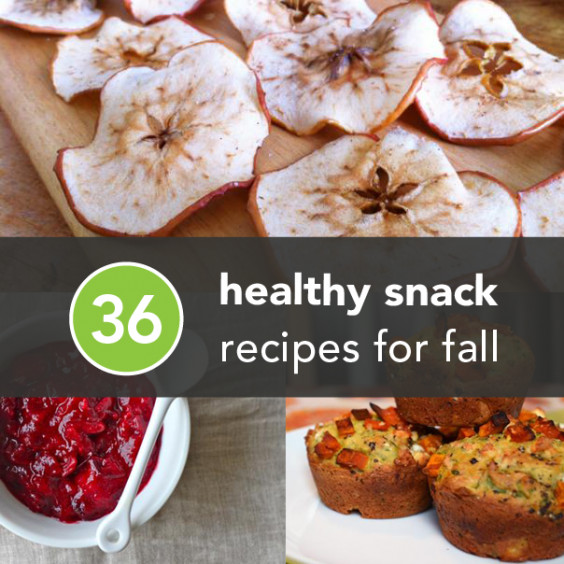 Healthy Fall Snacks  36 Healthy Snacks to Celebrate Fall