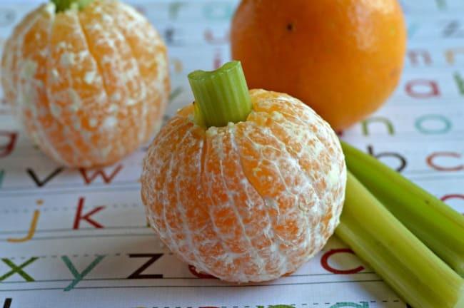 Healthy Fall Snacks  Healthy Fall Snacks Easy Orange Pumpkins Happy Mothering