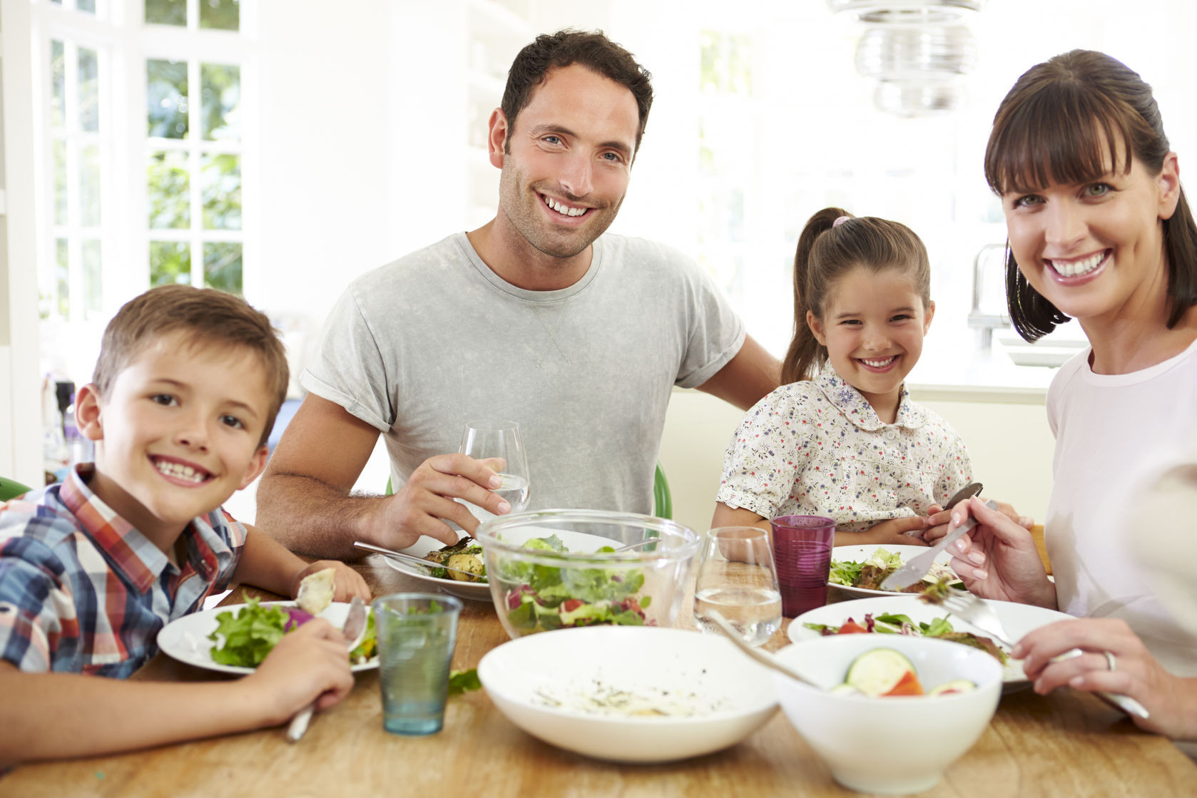 Healthy Family Breakfast  For ting 3 simple steps for a healthy family