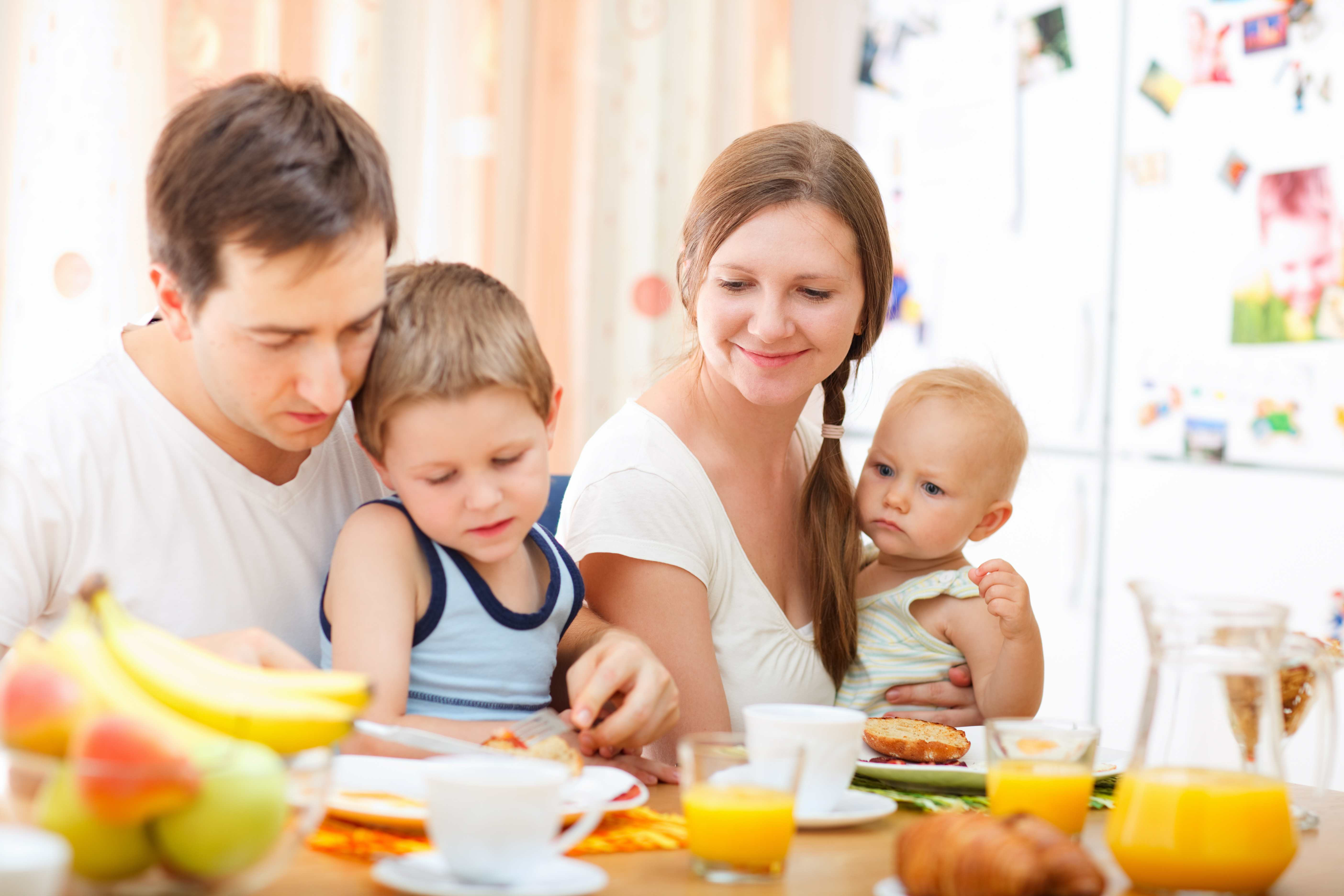 Healthy Family Breakfast  Is your kid child a breakfast skipper An Easy simple and