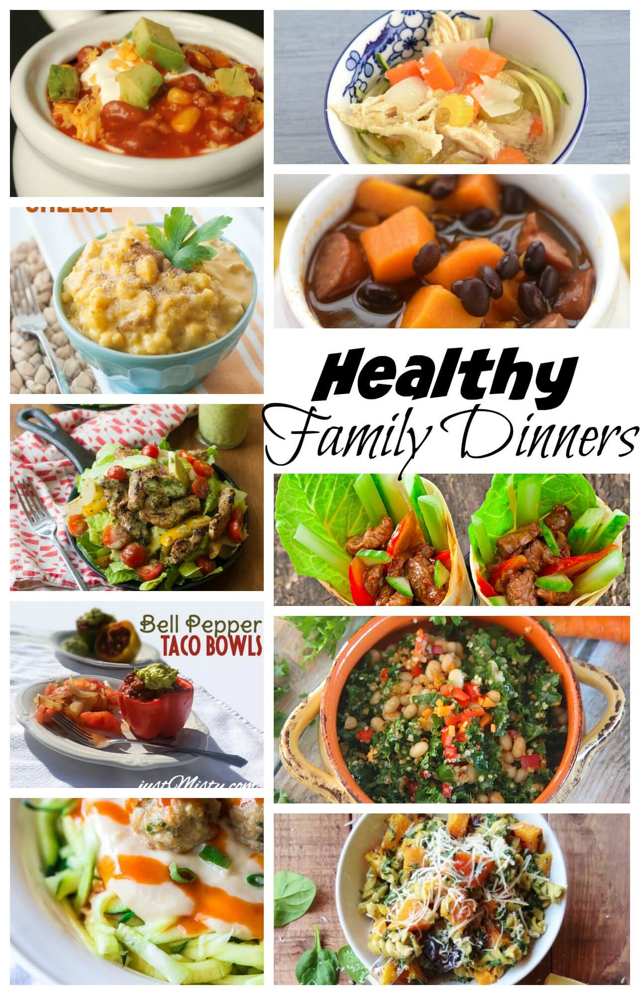 Healthy Family Dinner Recipes  Healthy Family Dinner Recipes Life Sew Savory