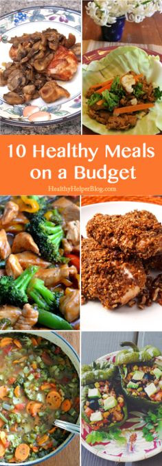 Healthy Family Dinners On A Budget  1000 images about Clean Eating on Pinterest