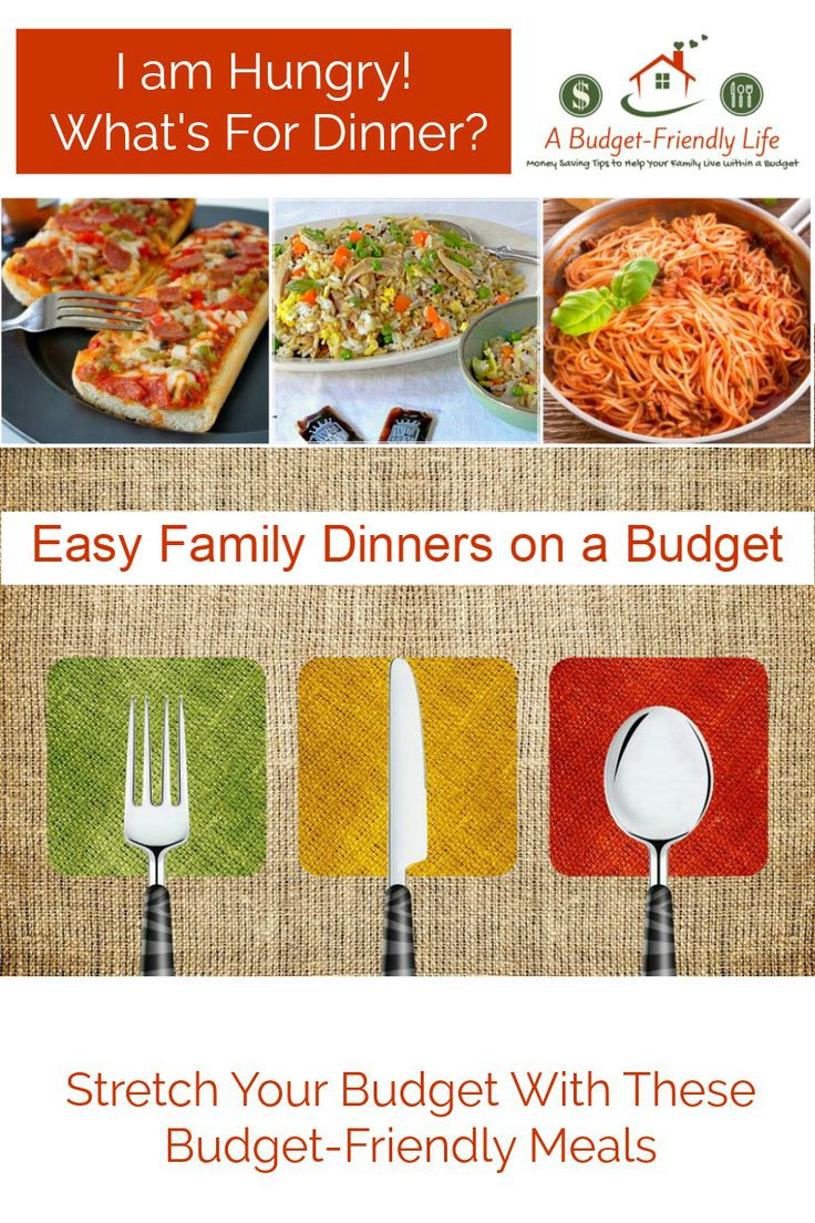 Healthy Family Dinners On A Budget  188 Best images about Weekly Menu Plans on Pinterest