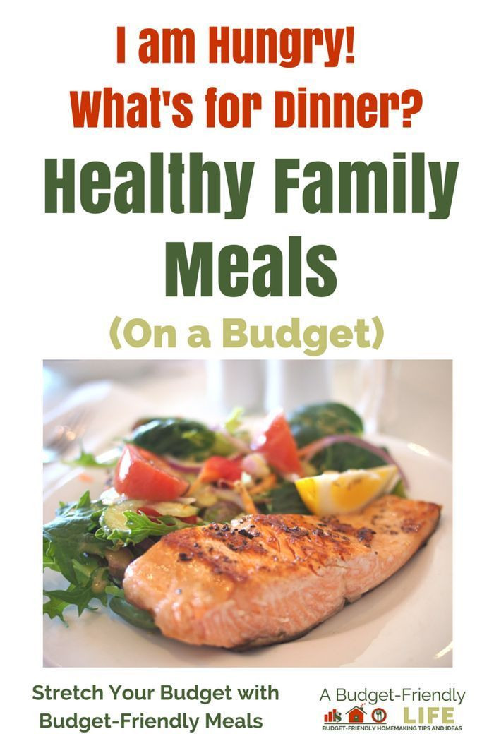Healthy Family Dinners On A Budget  17 Best ideas about Meals A Bud on Pinterest