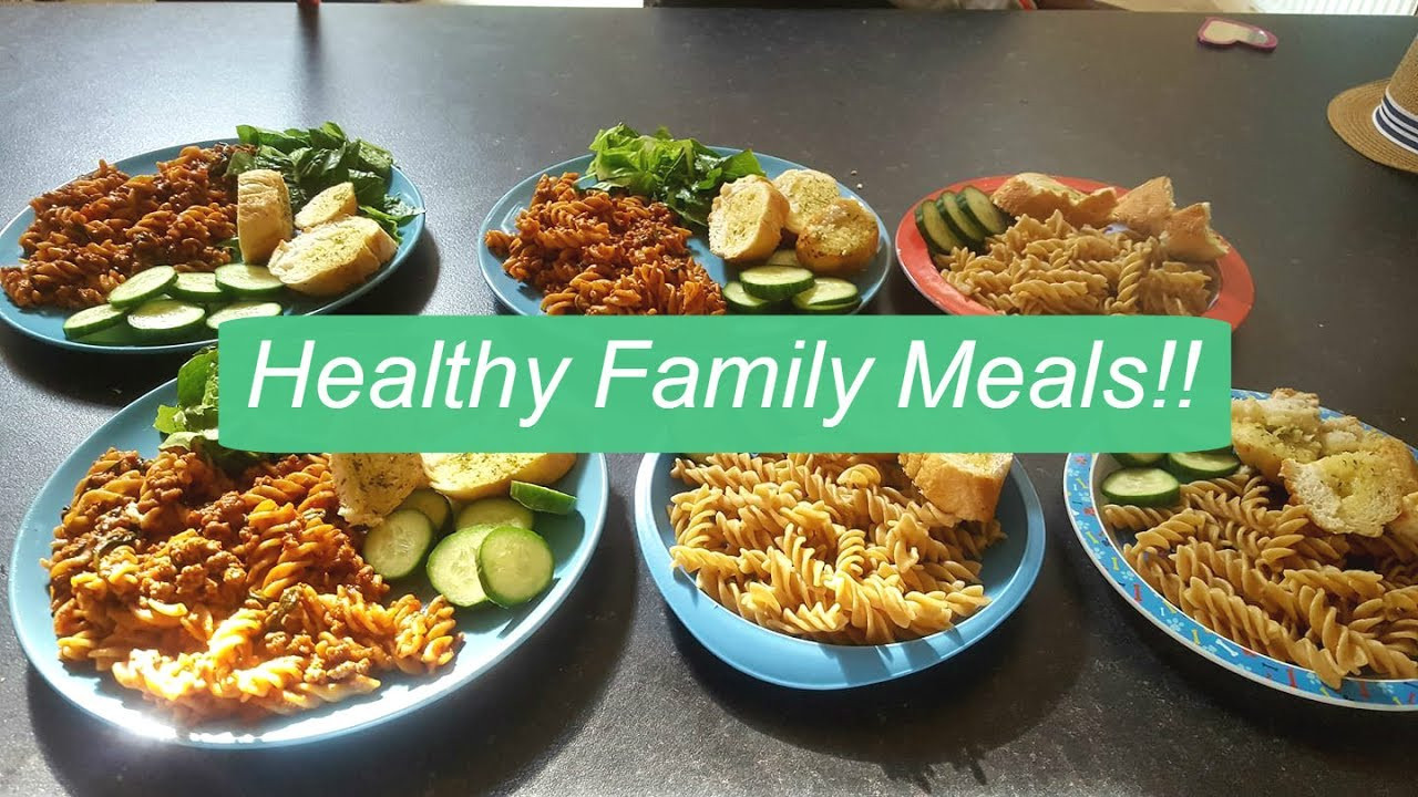 Healthy Family Dinners  HEALTHY FAMILY MEALS
