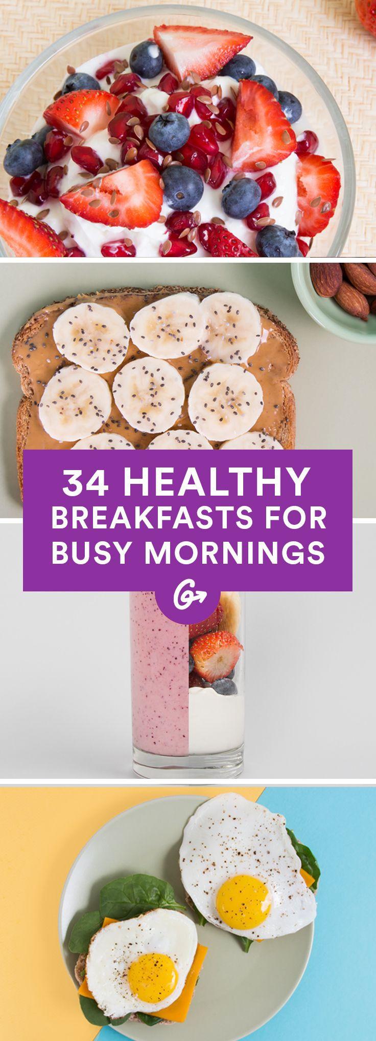 Healthy Fast Breakfast Ideas  25 best ideas about Healthy breakfasts on Pinterest