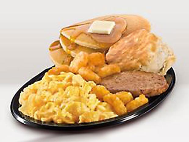 Healthy Fast Food Breakfast Mcdonalds  10 Breakfast power sandwich Panera Bread Healthiest