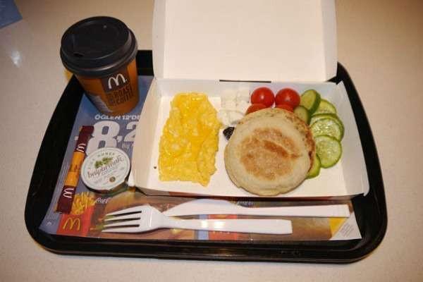 Healthy Fast Food Breakfast Mcdonalds  Healthful Fast Food Options McDonald s Breakfast menu