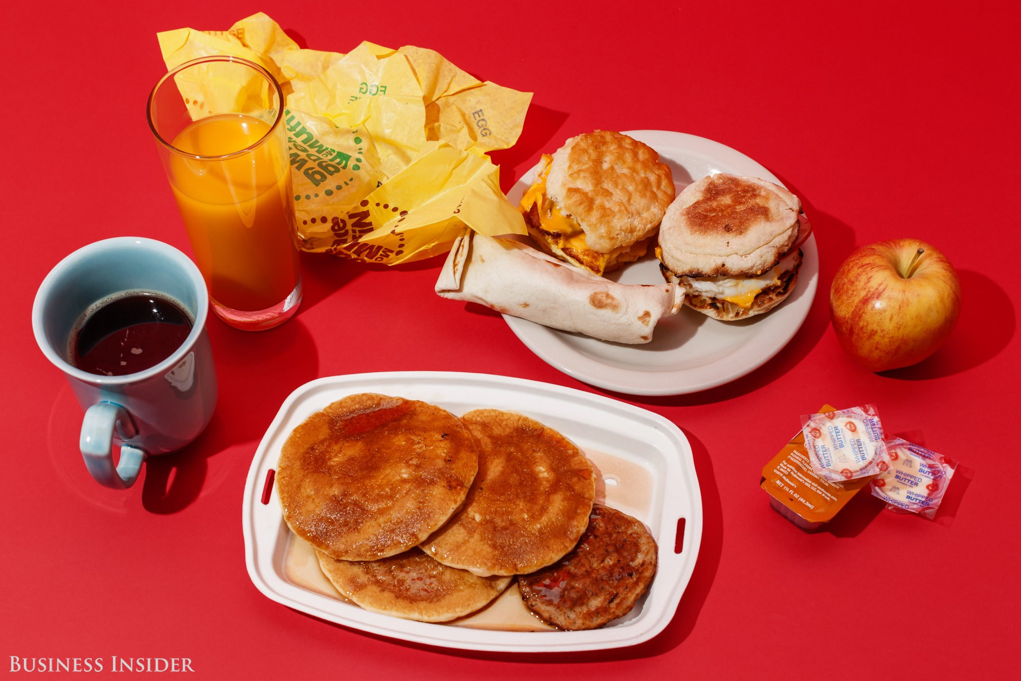 Healthy Fast Food Breakfast Mcdonalds  McDonald s has a new strategy in the fast food value wars