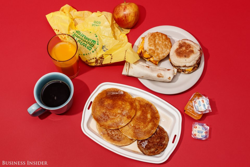 Healthy Fast Food Breakfast Mcdonalds  We ranked McDonald s All Day Breakfast menu from worst to
