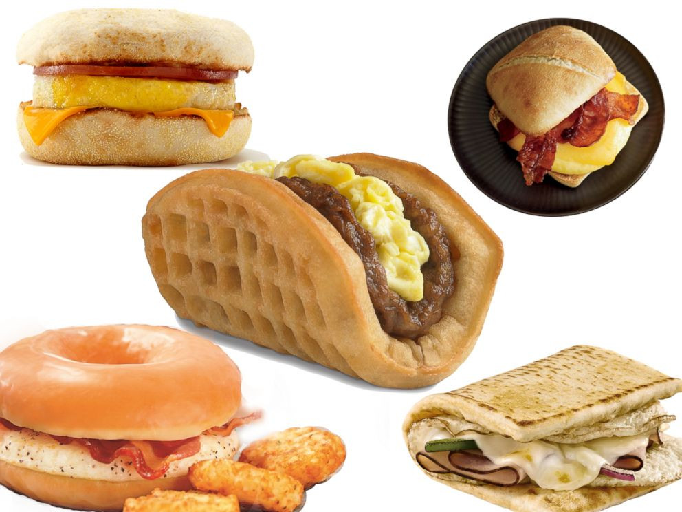 Healthy Fast Food Breakfast Mcdonalds  Fast Food Breakfast With The Most Calorie