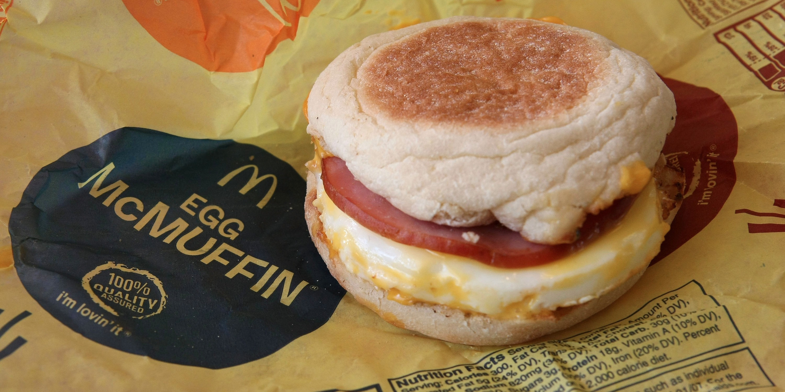 Healthy Fast Food Breakfast Mcdonalds  McDonald s all day breakfast nationwide Business Insider