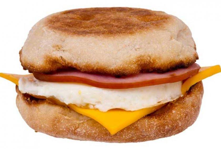 Healthy Fast Food Breakfast Mcdonalds  McDonald s Menu Healthiest Breakfast Sandwiches