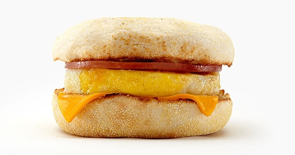Healthy Fast Food Breakfast Mcdonalds  McDonald s Egg McMuffin